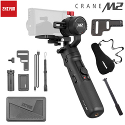 Zhiyun Crane M2 3-Axis Handheld Gimbal for Mirrorless Cameras Smartphones OSMO Action Stabilizer PK FeiYu G6 Plus DJI Ronin S