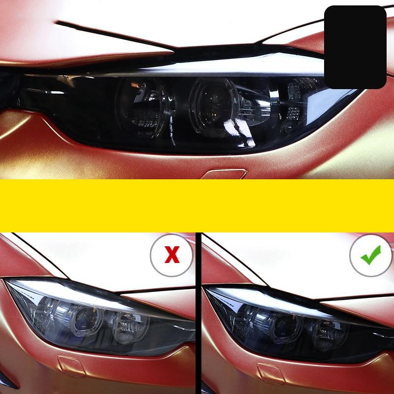 Lsrtw2017 TPU Transparent Black Car Heaflight Film for Bmw X1 X2 X3 X4 X5 X6 X7 F25 F26 F48 F15 F16 f39 g01 G02 G05 G07 g06 G29