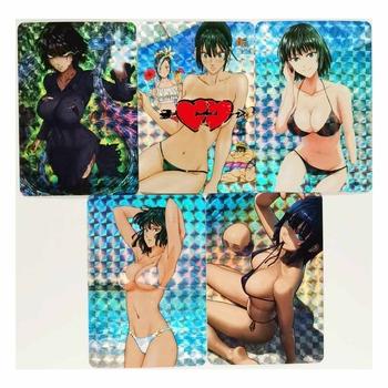 5 sztuk zestaw ONE PUNCH MAN Fubuki Nude Sexy strój kąpielowy proces refrakcji zabawki Hobby Hobby kolekcje kolekcja gier Anime karty tanie i dobre opinie TAKARA TOMY CN (pochodzenie) S-78 8 ~ 13 Lat 14 lat i więcej 2-4 lat 5-7 lat Chiny certyfikat (3C) Zwierzęta i Natura