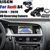 Caméra de recul pour Audi A4 B8 B9, caméra de sauvegarde avec adaptateur d'interface, écran d'origine, Kit décodeur MMI, caméra de recul, modèle 2010 ~ 2020