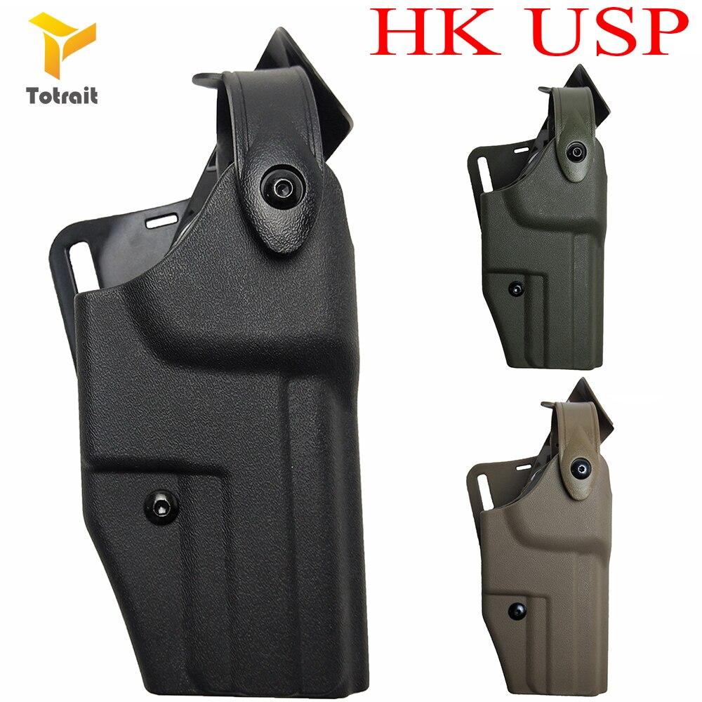 Totrait Gun Holster HK USP Gun Acces Waist Belt Holster For Army Hunting HK USP Pistol Military Gear Gun Holster Safariland 6320