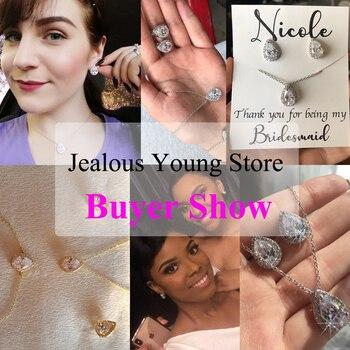 Luxury Crystal Bridal Jewelry Set 2