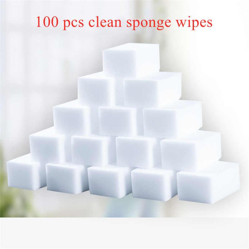 Lot de 50 /éponges magiques multifonctions 100 x 60 x 20 mm pour nettoyer les lavabos les salles de bain les hottes le r/éfrig/érateur