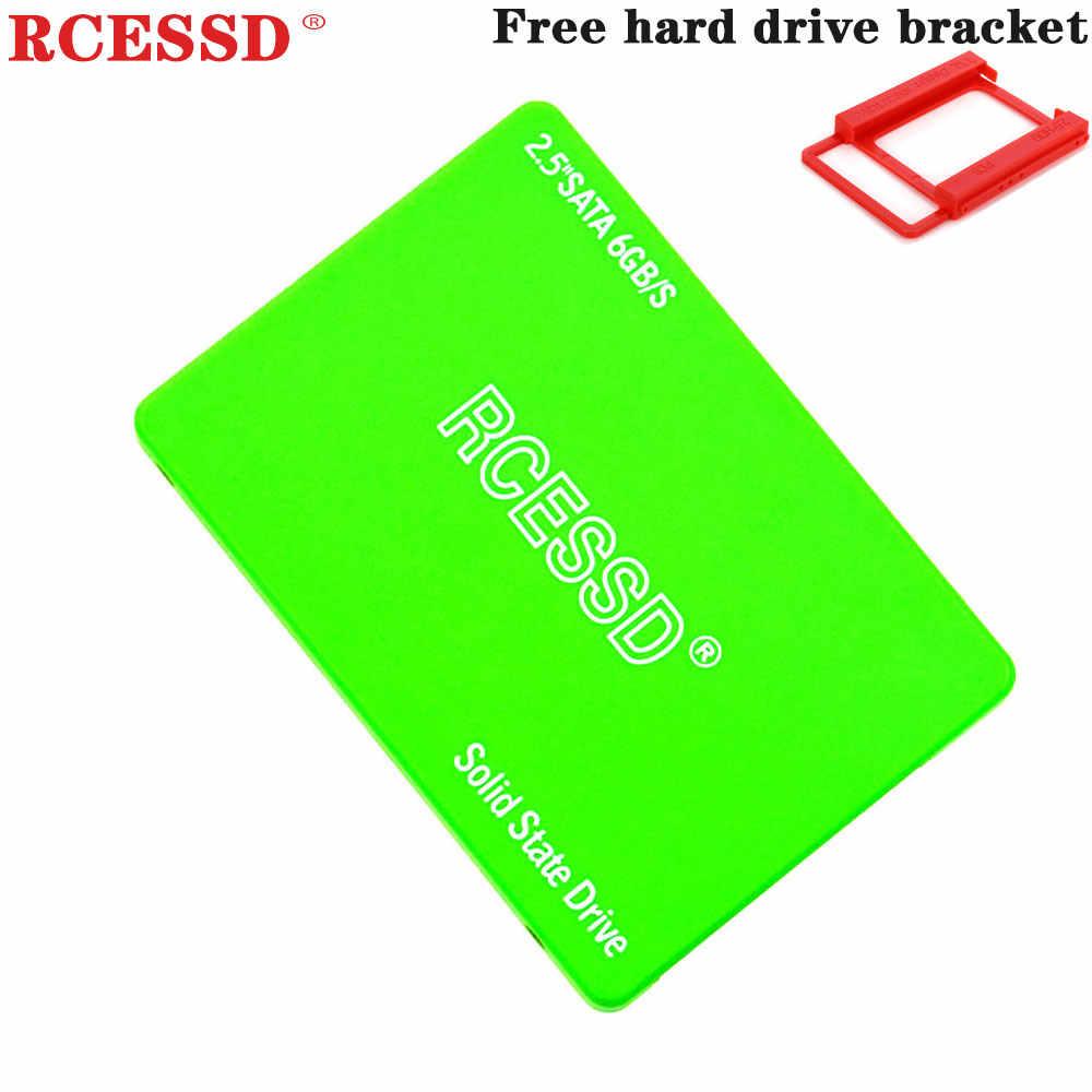 """RCESSD ירוק SSD 2.5 """"פנימי 120GB 128GB 240GB 256GB 360GB פנימי מצב מוצק קשה דיסק כונן HDD 60GB 64GB 480GB 512GB"""