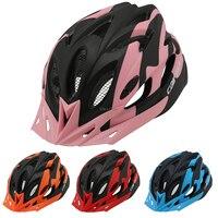Estrada ciclismo capacete leve mountain bike equitação da bicicleta capacetes de segurança proteção mtb patins de rolo da motocicleta capacete