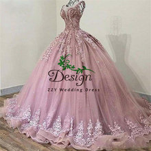 Блестящие Бальные платья Золушки для выпускного вечера бальное