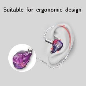 Image 4 - Guideray GR i S 0.78mm 2pin Hybrid Earphone 1BA+1DD Earbuds Powerful Stereo Headset Custom Made Hi Res DJ GR i18 /GR i58/GR i68