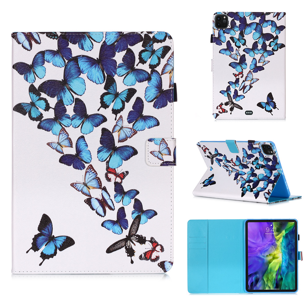 Wallet Flowers For Pro Owl Cover Coque Tablet 2020 Case Funda 11 iPad Tablet For Stand