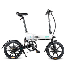 FIIDO D2s Electric Bicycle 7.8AH Battery Folding Electric Bicycle Bike Moped Double Disc Brakes LED Front Light 16