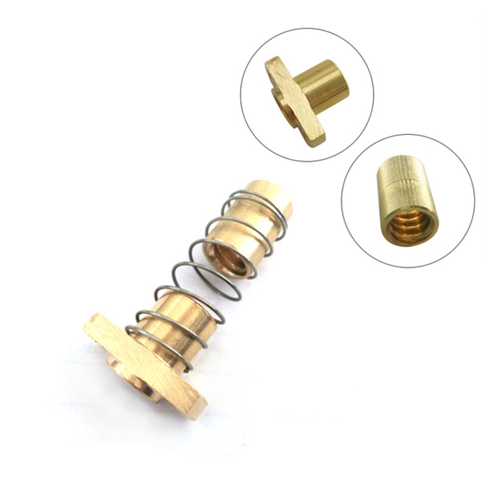 CNC 3018 exclusive 3D Printer Parts T8 Anti Backlash Spring Loaded Nut Elimination Gap Nut for 10mm