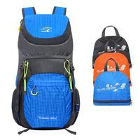 40L складной рюкзак, водонепроницаемый рюкзак для альпинизма, ультралегкий рюкзак для ноутбука, легкий рюкзак для путешествий и пеших прогул...