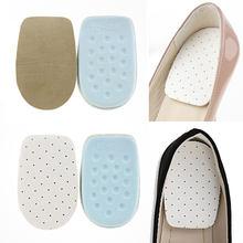 Semelles unisexes demi-chaussures respirantes, 1 paire, Support pour chaussures rehaussantes, accessoires pour chaussures