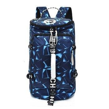 New Large Capacity Rucksack Man Travel Bag Male Luggage Bucket Shoulder Bags Men Backpacks Women Travel Back Pack цена 2017