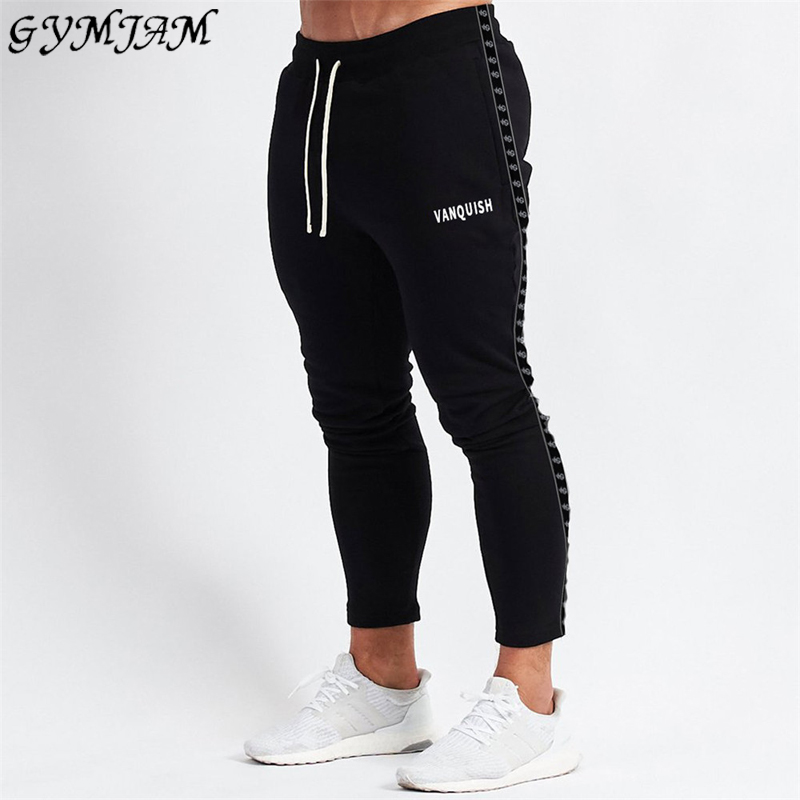 2020 Spring And Autumn New Men's Trousers Men's Casual Pants Jogging Streetwear Fashion Men's Pants Brand Slim Cotton Pants