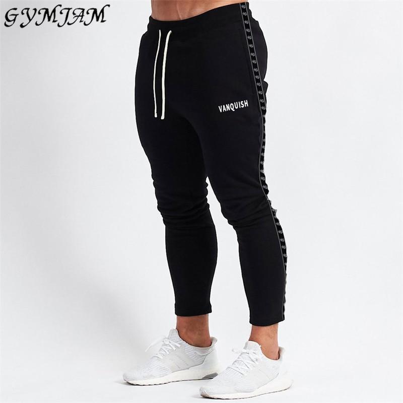 2020 Spring And Autumn New Men's Trousers Men's Casual Pants Jogging Streetwear Fashion Men's Pants Brand Slim Cotton Pants