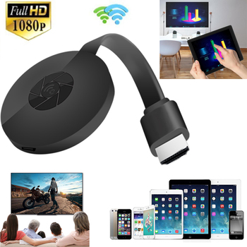 1080P Wireless WiFi Display Dongle TV Stick Video Adapter Airplay DLNA Screen Mirroring Share for iPhone iOS Android Phone to TV
