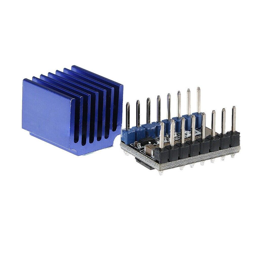 Модуль подложки для 3D-принтера, бесшумный Драйвер шагового двигателя, полный модуль управления микрошаговым драйвером LV8729 с радиатором