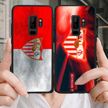 Phone Case Banega For Samsung Galaxy S10 S8 S9 Edge DIY Black Soft TPU For Sevilla FC A9 C10 C9 J7 Max  Note 9 S6 S7 S8 S10E real sociedad sevilla fc