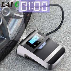 Image 1 - Portable Car Air Compressor Digital Tire Tyre Inflator Pump 12V with Big Light Bright Flashing Digital Pressure Gauge 150Psi