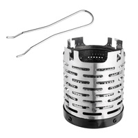 Camping Mini Portable Stove Heater Cap for Butane Gas Stove Burner Fishing Outdoor Tent Heating Cover Tool|Outdoor Tools| |  -
