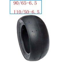 Шина Slick 90/65-6,5 Передняя 110/50-6,5 задняя бескамерная вакуумная шина для 47cc 49cc карманные аксессуары для велосипеда мотоцикла