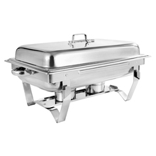 Stainless Steel Buffet Stove Hotel Buffet Restaurant Cafeteria Alcohol Heating Buffet Furnace Buffet Container Food Warmer