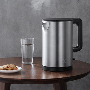 Image 3 - xiaomi VIOMI YM K1506 1.5L 1800W Electric Kettle Thermostat Anti Scalding House 304 Stainless Steel Water Kettle