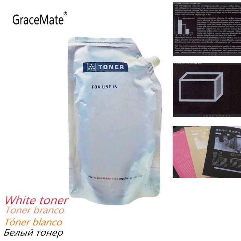 Compatible White Toner Powder Universal for HP Laser Printer Toner Cartridge Color LaserJet CP5225 C