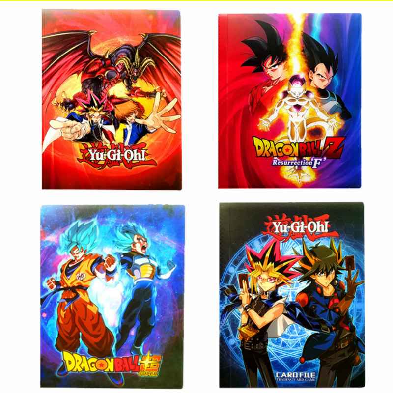 4 Styles Can Hold 240 Cards Super Dragon Ball Z Yu Gi Oh Heroes Battle Ultra Instinct Goku Vegeta Game Collection Card