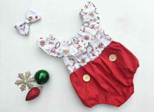 Ropa de Navidad para bebés niños recién nacidos niñas hermana que hace juego pequeñas/Grandes Hermanas mameluco trajes ropa Casual