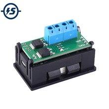 Módulo controlador de 15A, generador de señal, 1Hz-160KHz, PWM, módulo ajustable de ciclo de trabajo de frecuencia de pulso, pantalla LED