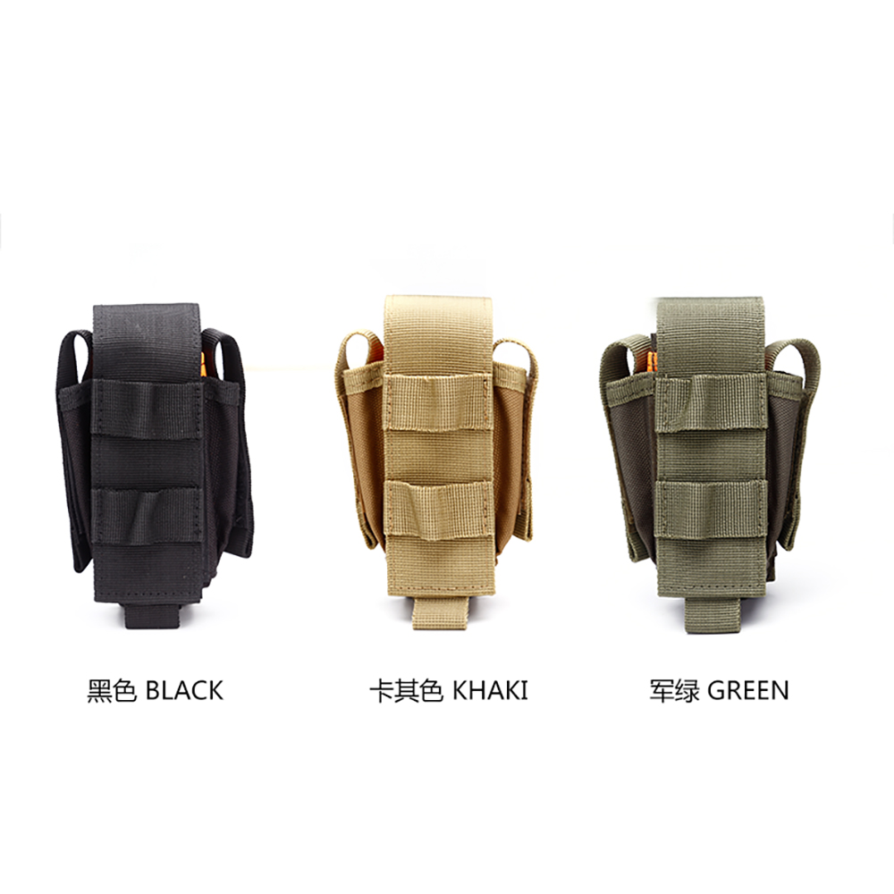 Tool Holster Sheath Universal Multi Pockets Tool Organizer Heavy Duty Construction MOLLE Pouch