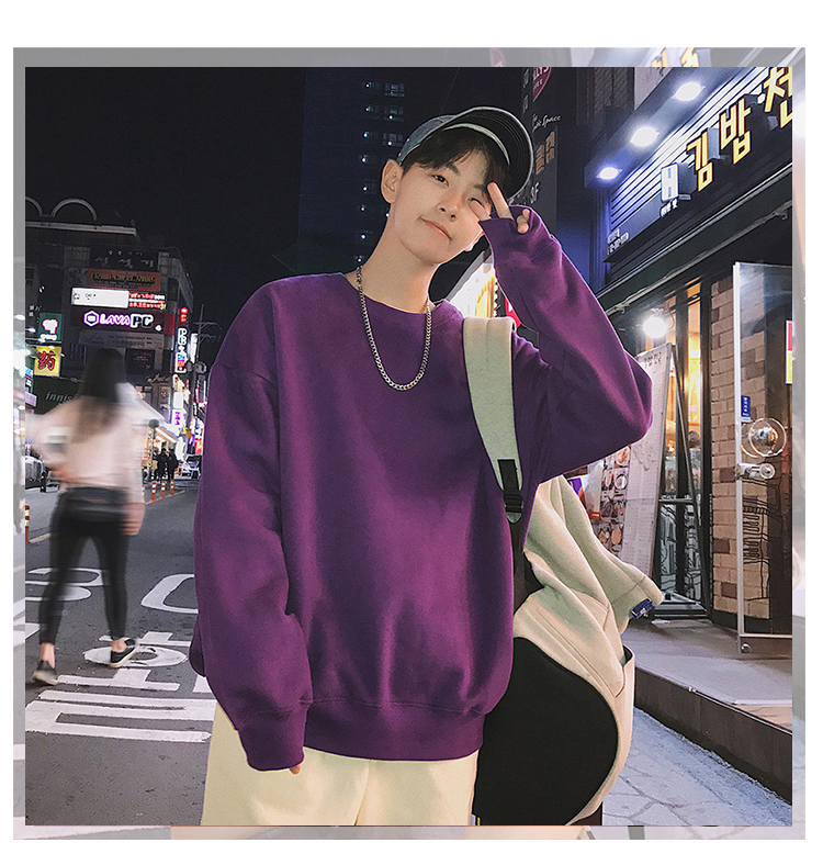 Men Hoodies Sweatshirts Street wear Black Hoodie Male Hip hop Winter Basic Hoodies 37