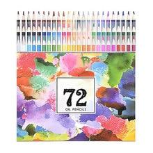 48/72/120/160 cores coloridas lápis conjunto para desenho esboço pintura estudante escola arte presentes sal99