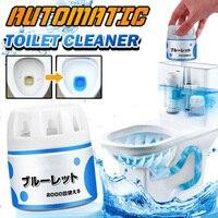 1 шт. очиститель для туалета автоматический промывочный помощник пузырьковый дезодорант жидкая Очистка для ванной комнаты TY