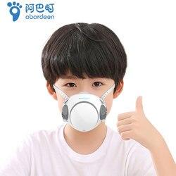 çocuklar ağız maskesi N95 Abardeen MasClean kullanımlık yüz maskesi 10 adet filtre Anti virüs PM2.5 toz maskeleri bakteri koruma