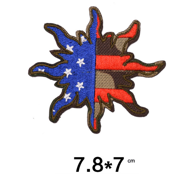 Military Embroidery Patches DIY Clothes Applique Army Embroidery Badges3