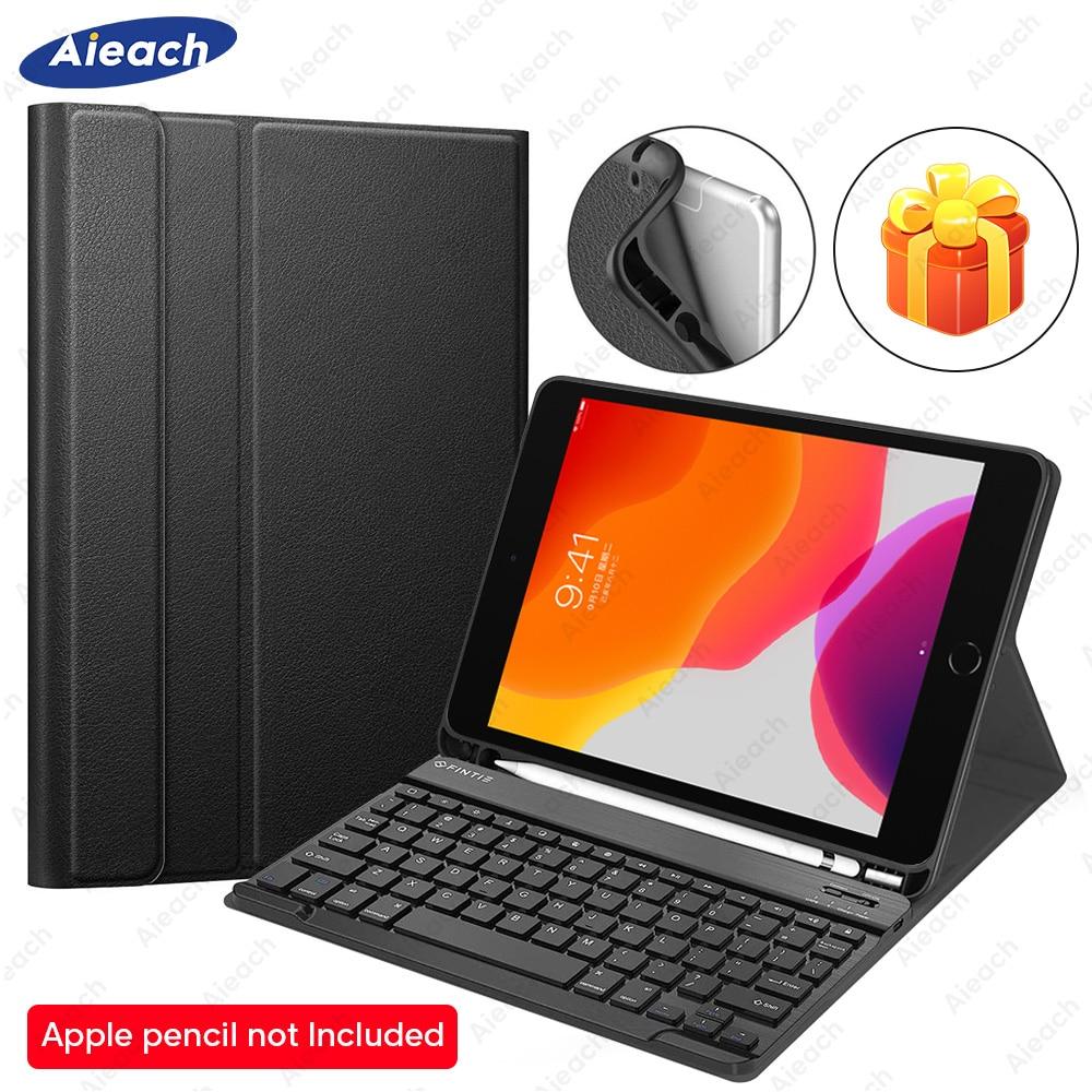 Bluetooth Keyboard Case For IPad Mini 5 2019 Mini 4 Case With Pencil Holder Leather Keyboard Funda For IPad Mini 3 2 1 Case 7.9