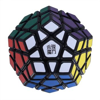 MoYu New Arrival YJ Yuhu Megaminx Magic Cube Speed Cube for Kids and Adult - Black