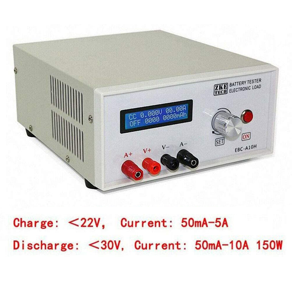 Battery Testers <font><b>Electronic</b></font> Load Battery Charging Capacity Tester <font><b>Car</b></font> Battery Analyzer <font><b>Electronic</b></font> Power Performance Testing <font><b>Tool</b></font> image