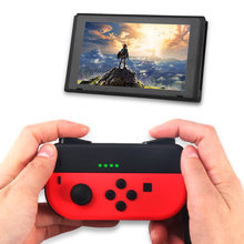 Nintend Switch LED Mini Charging Dock Station Grip Nintendos Joy-con Controller Handle Charger Nintendoswitch Game Accessories(China)