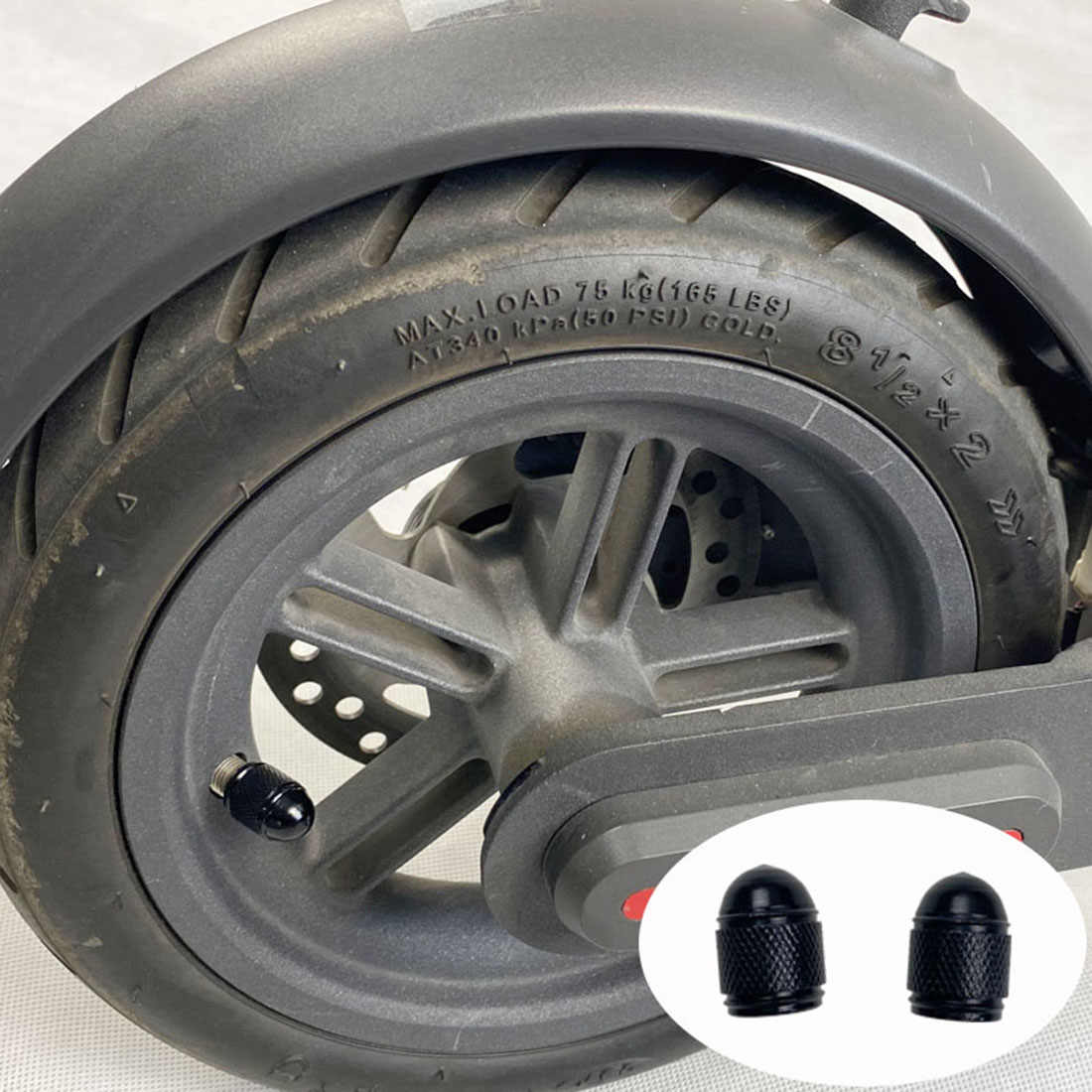 Outdoor Ventilschaft kappe Zubehör Für NINEBOT MAX G30 Aluminiumlegierung