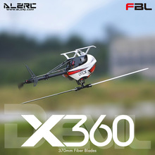 ALZRC X360 FAST FBL 6CH 3D Flying RC Helicopter Kit Version \u0028No electronic parts\u0029