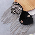 2020 New Style Badge Suit Brooch Epaulet Bag Corsage Handmade Bead Nail Drill Shoes Accessories