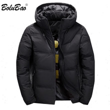BOLUBAO Brand Men Solid Down Jacket Winter New Men's Thick W