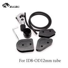 Bykski OD12/14/16mm Akrilik/PMMA/PETG Sert Tüpler Bükme Kalıp Kiti 10mm Çap silikon Bar Sıvı Soğutma Sistemi Aracı