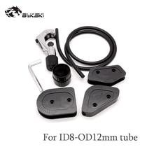 Bykski OD12/14/16mm akryl/PMMA/PETG twarde rury do gięcia zestaw o średnicy 10mm silikonowy pasek System chłodzenia cieczą narzędzie