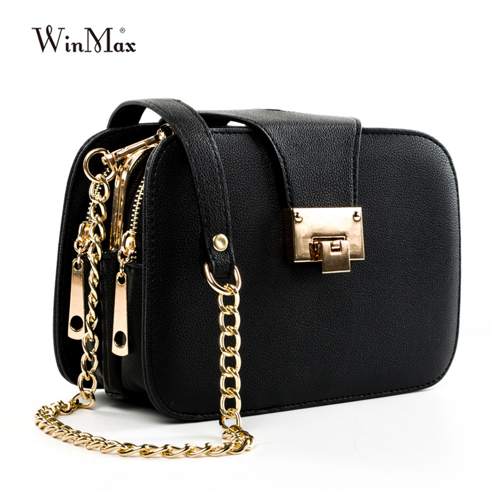 Image 2 - Women Spring Fashion Chain Shoulder Bags Brand Flap Designer 3 