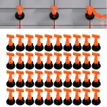 Tile-Spacer Leveling-System-Kit Level Wedges Construction-Tools Wall-Tile Flooring 50pcs