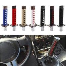 Universal Long Samurai Sword Shape Automatic Car Shift Knob Shifter w/4 Adapters Gearbox Handles Gear Shift Knob Car Styling